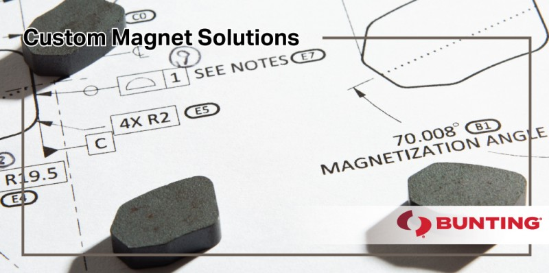 Custom Magnet Solutions for Industrial Applications